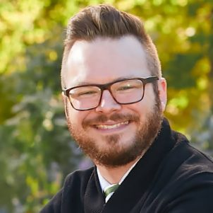 Adam Kerr is pictured.