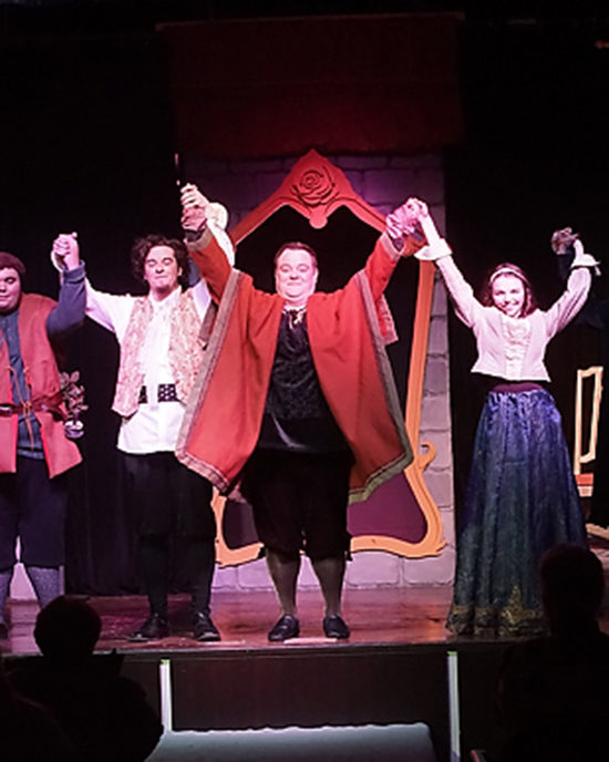 Cast members take a bow at PNW's production of Beauty and the Beast