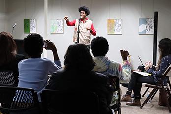 PNW's Black History Month Poetry Slam