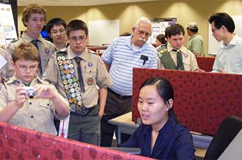 A CIVS demo for Boy Scouts