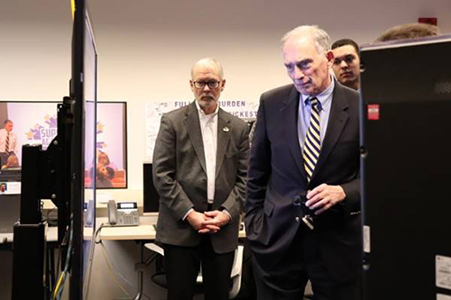 Congressman Peter Visclosky Tours CIVS