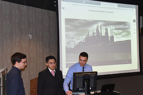 CIVS researchers present their work
