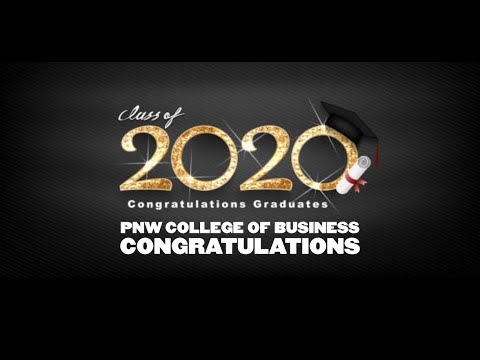 Congratulations Purdue Northwest College of Business Class of 2020