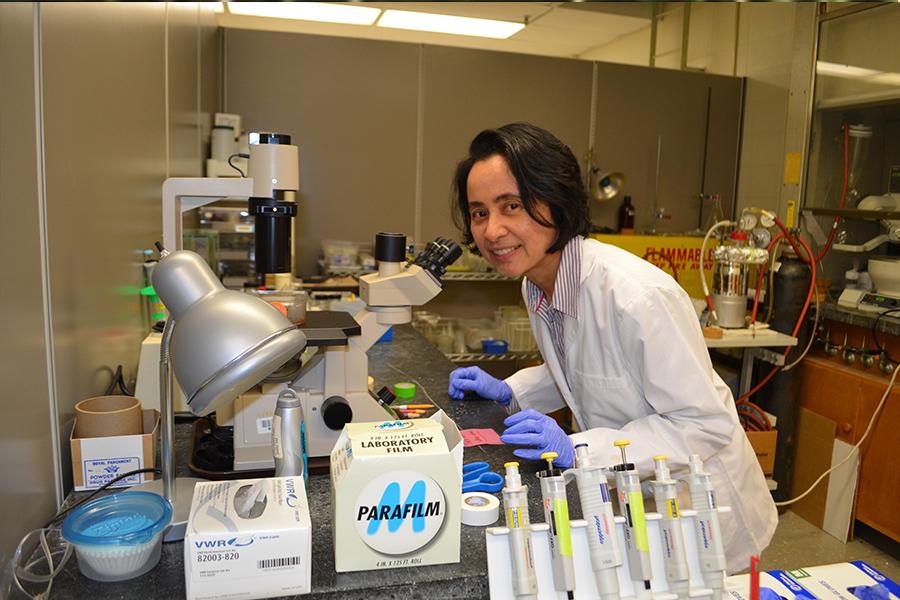 Meden Isaac-Lam, Ph.D. Associate Professor of Chemistry