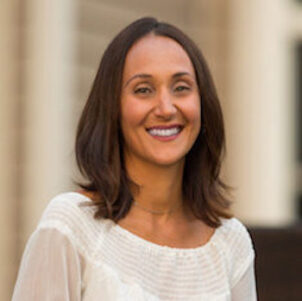 Amanda Zelechoski is pictured.