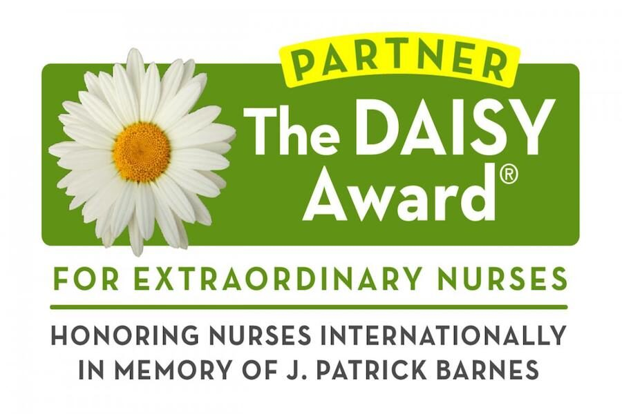 The Daisy Awards Logo is pictured.