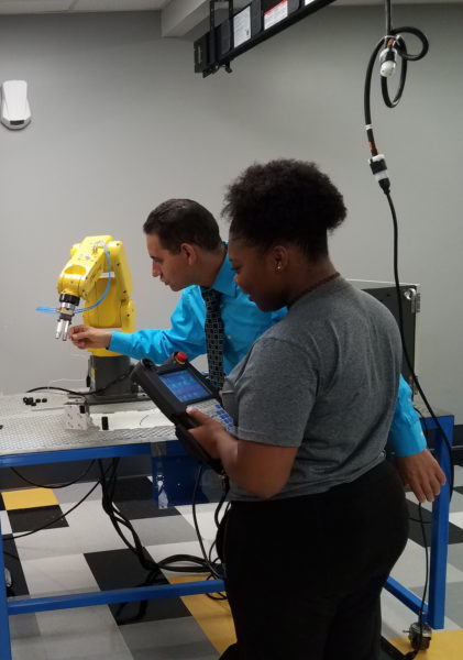Robotics Training Pendant