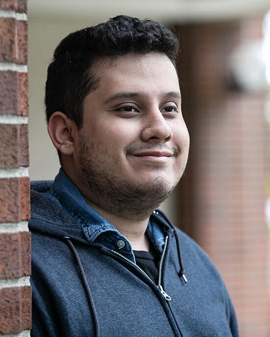 PNW Computer Science Student Alejandro Alvarez