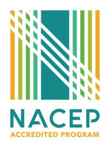 Logo for the National Alliance of Concurrent Enrollment Partnerships with text: NACEP Accredited Program