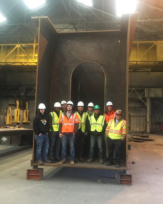 Construction Inspections Class Visit