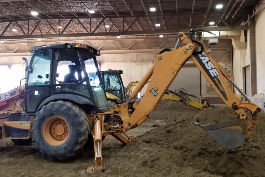 Feature 1 - Students experience Heavy Equipment Engineers