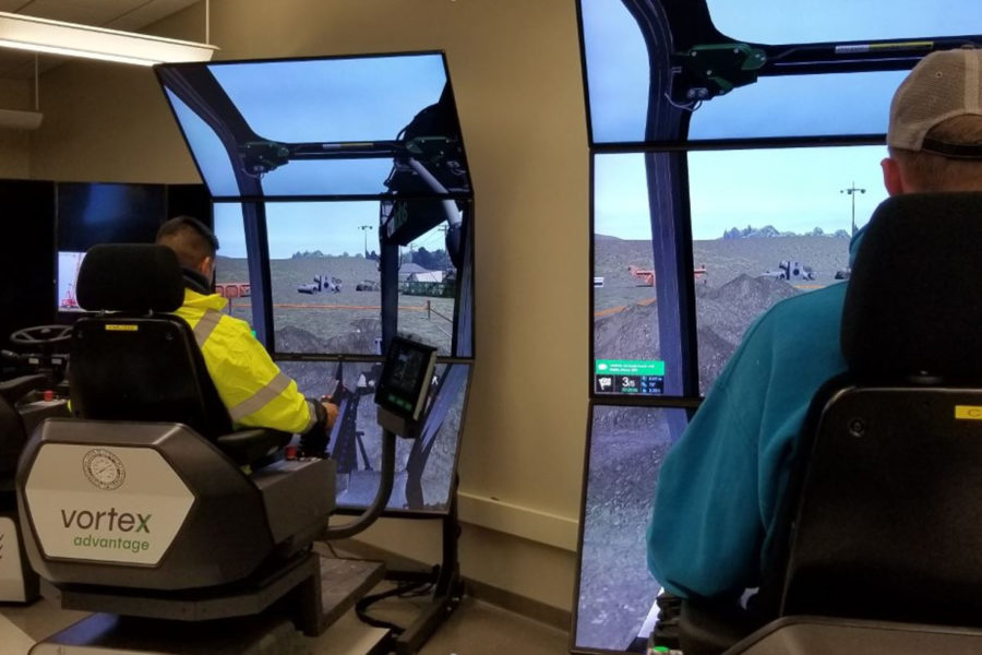 Feature 2 - Students experience Heavy Equipment Engineers