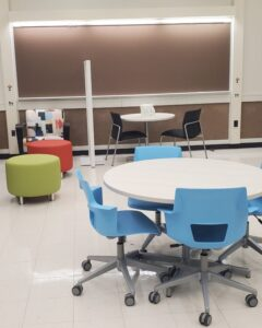 Student Family Lounge is pictured.