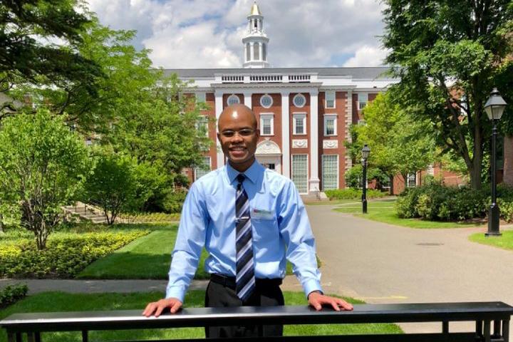 Eric at Harvard