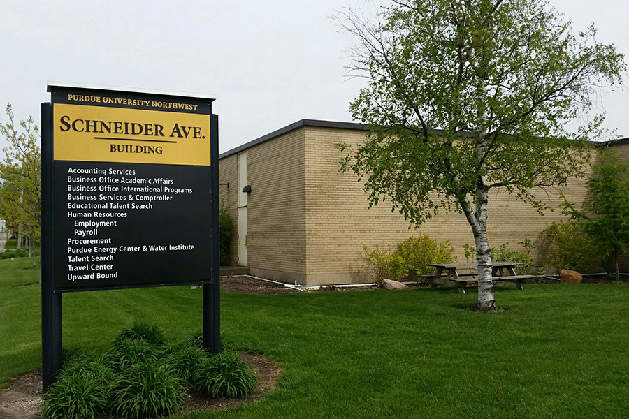 Schneider Ave. Building and signage