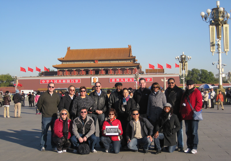 PNW Study Abroad Students in China