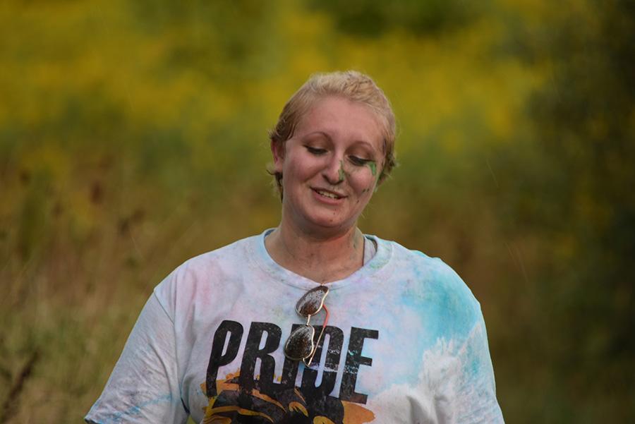 Pride Stride student runner