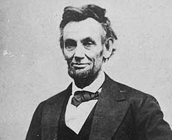 Image of Abraham Lincoln.