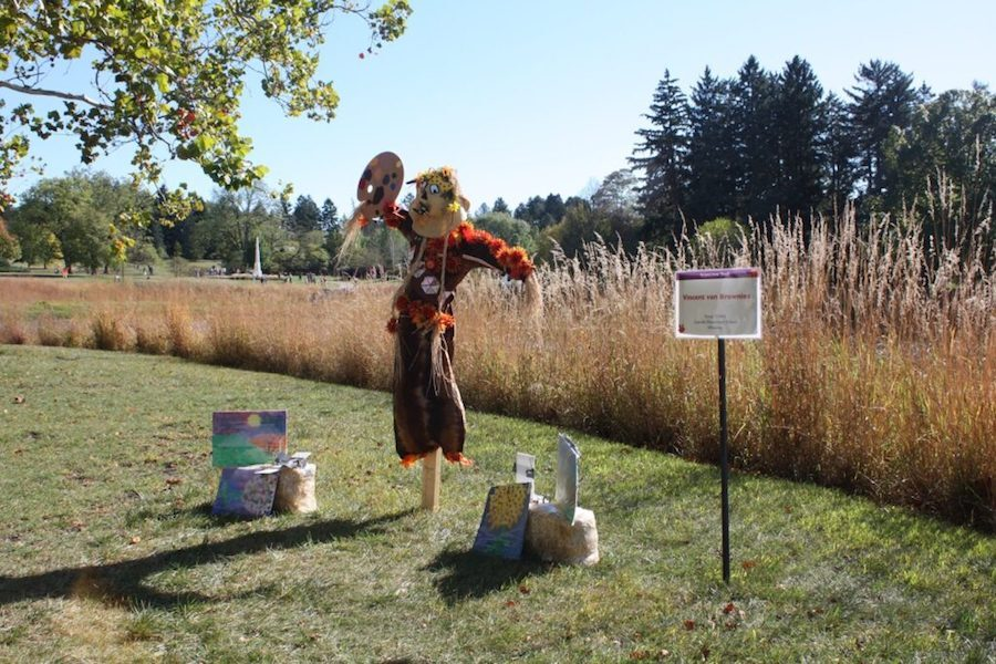 Trail of Scarecrows is pictured.