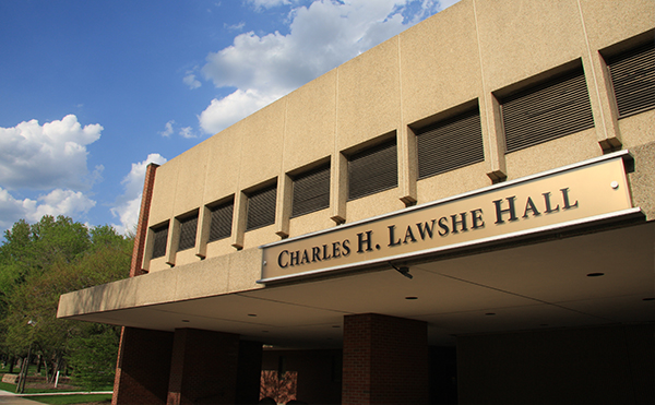 Charles H. Lawshe Hall Administration Building
