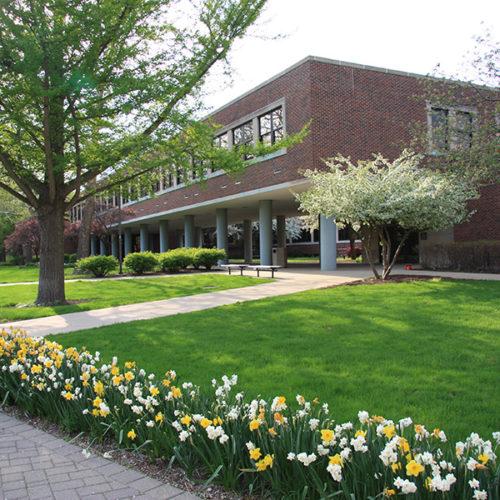 A building on PNW's Hammond campus