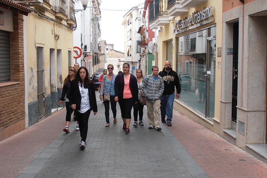 Study Abroad students in Spain