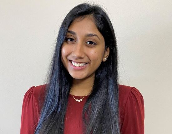 Aneria Patel is pictured.