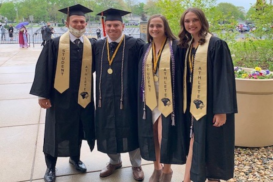 Honors College graduates are pictured.