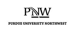 Vertical stack of PNW logo in black