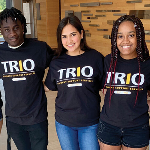 Students associated with PNW Trio Student Support Services