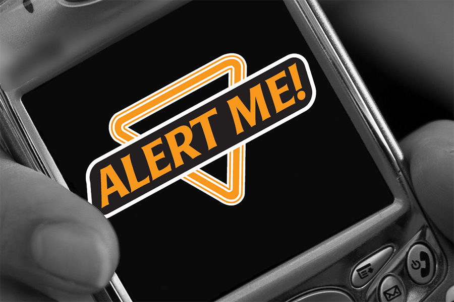 Alert Me on a smartphone