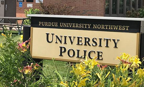 University Police sign