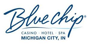 Logo: Blue Chip, Casino - Hotel - Spa, Michigan City, IN