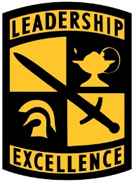 ROTC Leadership Logo is pictured.