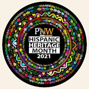 Hispanic Heritage Month logo.