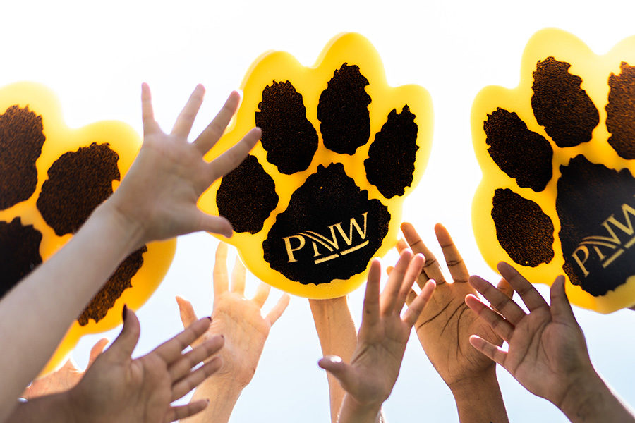 PNW paws and hands raised!