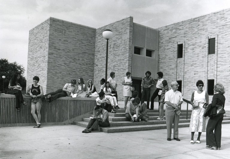 Library-Student-Faculty Building (LSF), 1977