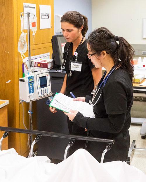 Purdue Northwest Nursing Students