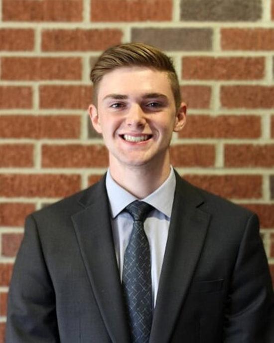 Accounting student Tyler Klukken