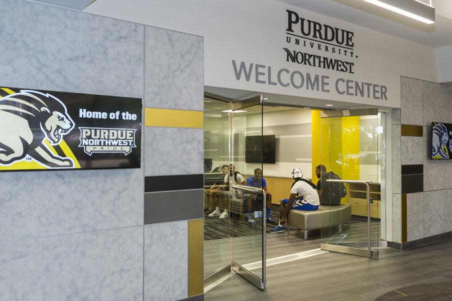 PNW Welcome Center in Hammond