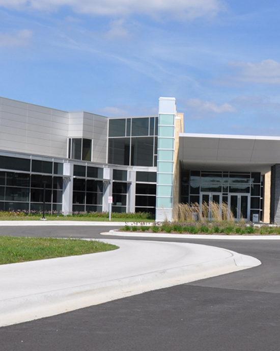 PNW's DSAAC building