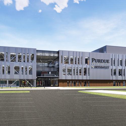 Bioscience Building rendering
