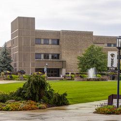 A building on PNW's Westville campus