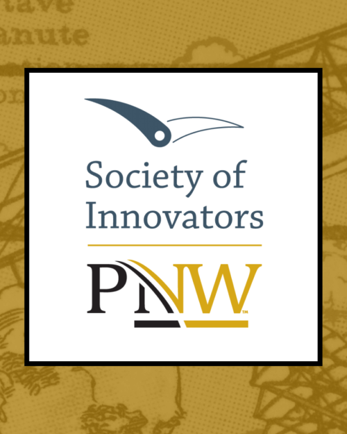 Logo for the Society of Innovators at Purdue University Northwest