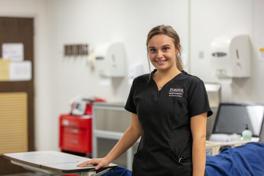 Nursing Student Madeleine Gnezda
