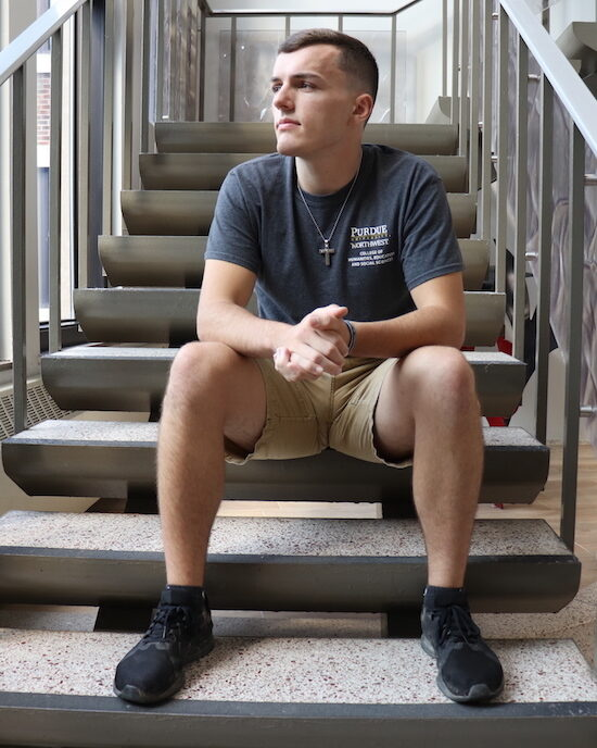 Image of student Casey Austin.