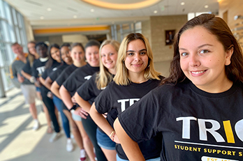 Students associated with PNW's TRIO Student Services Support