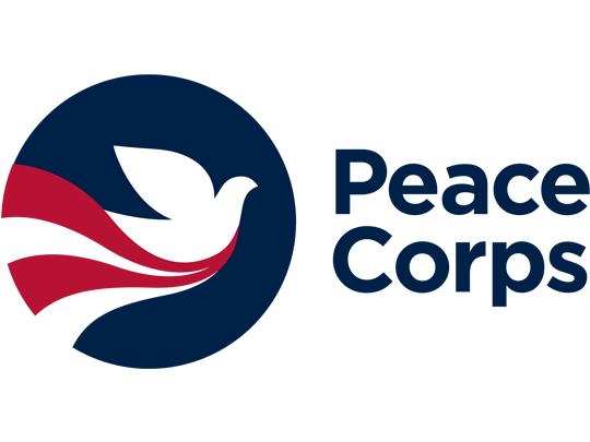Image of Peace Corps logo.