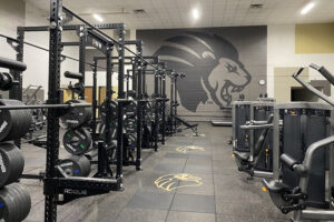 Image of fitness center.