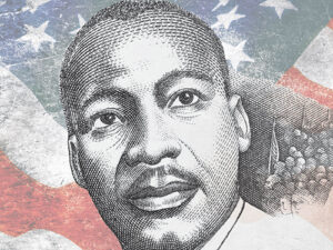 Image of MLK.